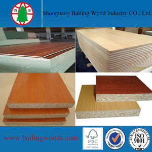 E2 Melamine Wood Grain Faced Flakeboard/Chipboard