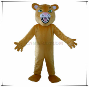 High Quality Super Soft Leopard Mascot Costume for Party