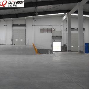 Automatic Low Headroom Overhead Garage Door/Singe Track Garage Door pictures & photos