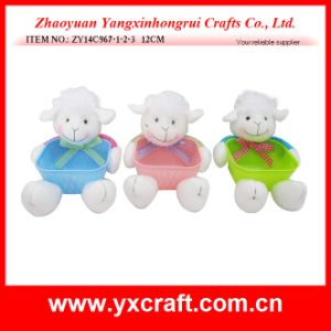 Easter Decoration (ZY14C967-1-2-3 12CM) Easter Sheep Easter Bowl Promotional Products pictures & photos