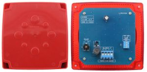 Popular Alarm System Red Fire Siren Ta-418 pictures & photos