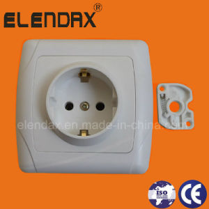 European Style 16A Power Wall Socket (F3010) pictures & photos