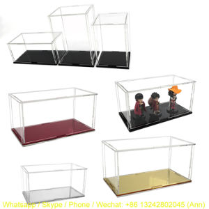 Customize Clear Acrylic Figure Display Box pictures & photos