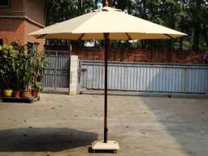 Aluminum Parasol / Garden Umbrella (S300R8481-AWMW)