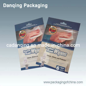 3 Sides Seal Practical Zipper Bag (DQ214) pictures & photos