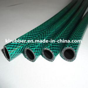 Green Color PVC Braided Garden Hose pictures & photos