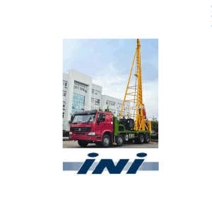 Ini Truck Mounted Automatic Pile Driver with Free Fall Heavy Hammer