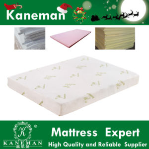 Bamboo Fabric Cool Feel Gel Memory Foam Mattress pictures & photos