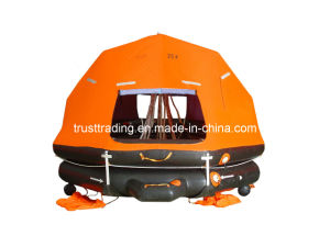 Self Righting Davit Launched Life Raft pictures & photos