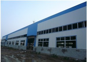Light Steel Structure Workshop/Economic & Stable Factory Building pictures & photos