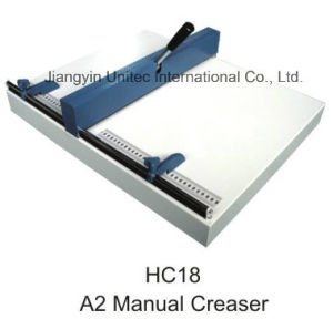 World Best Selling Products Manual Paper Creasing Machine 460mm Hc18 pictures & photos