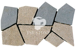 Yellow Granite Paverstone with Back Mesh pictures & photos