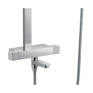 Bathroom Shower Set with Shower Heads, Single Handshower and Faucet in Chrome pictures & photos