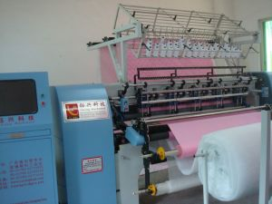 Computerized Shuttle Lock Stitch Multi-Needle Quilting Machine (YXS-64-2B) pictures & photos