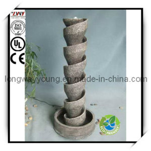 47.5 Inches Screw Type Fiberglass Fountain for Decoration (YF2053C-47.5H-L177)