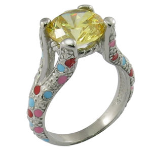New Product CZ Wedding Ring pictures & photos