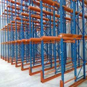 Selective Duty Heavy Warehouse Storage Equipment Drive in Rack