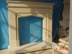 Sandstone Simple Fireplace (1789) pictures & photos