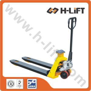 Hydraulic Hand Pallet Truck with Scale (PT-BFS) pictures & photos