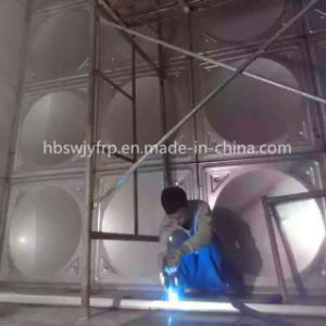 Assembly 304 Stainless Steel Water Storage Tank pictures & photos