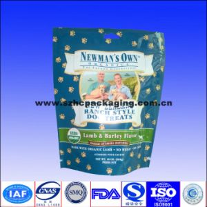 Plastic Pet Food Bags with Zipper