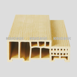 Eco-Friendly Wood Plastic Composite WPC Door Frame (TVWG-120) pictures & photos