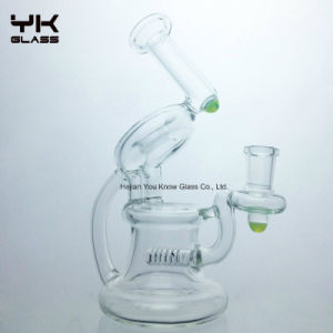Glass Bubbler Water Pipe Oil Rigs with Glass Bowl pictures & photos