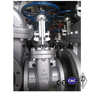 API Hf Cast Steel Flange Gate Valve (Z40Y-cl300-nps5) pictures & photos