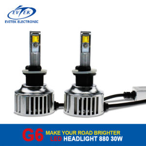 2016 Evitek LED Headlight for Vehicles 8~32V 30W 3200lm 40W 4500lm Super Bright Hot Sell Product pictures & photos