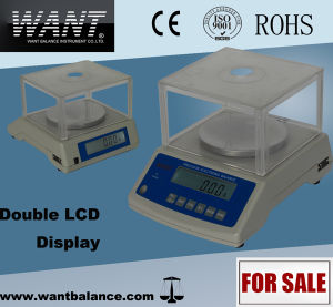 Double LCD Display Milligram Balance 510g 0.01g pictures & photos