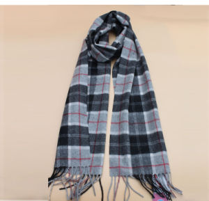 Knitted Lattice Yak Wool Scarves/ Cashmere Scarves/Wool Garment/Wool Clothing/Knitwear pictures & photos