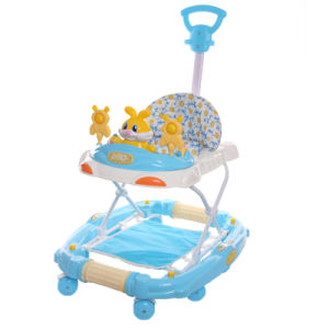 Baby Push Toy Car Plastic Baby Walker with Push Bar pictures & photos