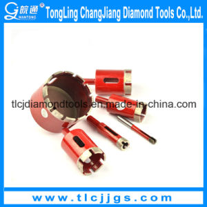 Laser Welding Diamond Core Drill Set for Stone pictures & photos