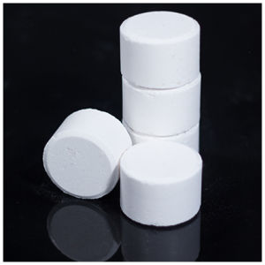 Trichloroisocyanuric Acid Effervescent Tablets, Factory Lowest Price, TCCA pictures & photos