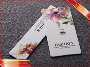 Garment Paper Price Tag Printed Jewelry Display Tag pictures & photos