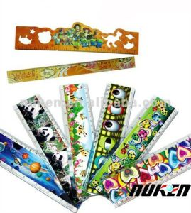 Custom Promotional Ruler with 3D Effect Lenticular Printing pictures & photos