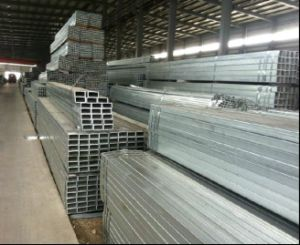 50X50mm Hot DIP Galvanized Square Steel Pipe/Pre-Gal Steel Tube pictures & photos