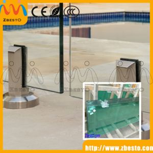 Clear/Frosted/Acid Etched/Patterned Tempered Shower Bathroom Enclosures Door Screen Glass pictures & photos