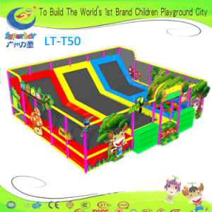 Professional Kids Playground Equipment Trampoline pictures & photos