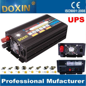 Factory 12V 110V220V DC AC 1200W Inverter with Charger UPS pictures & photos