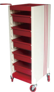 Nice Design Red Color Hair Trolley (DN. A23) pictures & photos