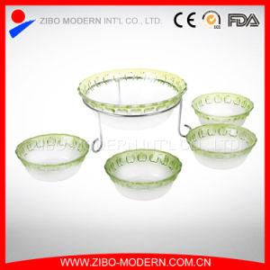 Wholesale Clear Round Glass Bowl Set / Salad Glass Bowl Set pictures & photos
