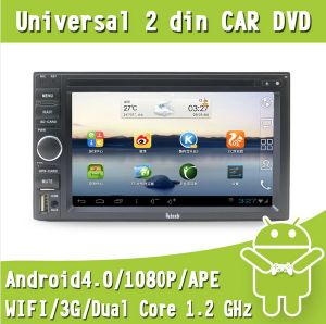 Auto Multimedia Universal Double DIN Car DVD Navigation Android 4.0 System for Nissan (EW861)