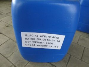 Glacial Acetic Acid 99.8% CAS: 64-19-7 pictures & photos