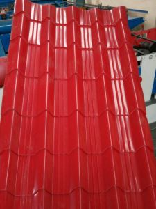 0.13mm-1.2mm Color Coated Corrugated Steel Sheets in All Ral pictures & photos