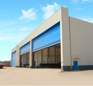 Steel Structure High Speed Door / Aircraft Automatic Hanger Door pictures & photos