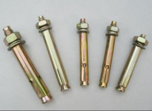 High Quality Yellow Zinc Plated Expansion Anchor Bolt pictures & photos