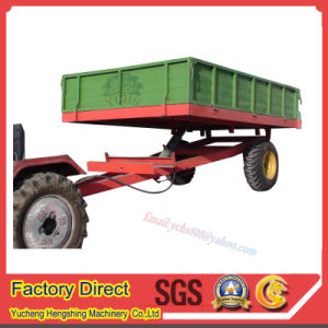 Tractor Trailed Dumping Farm Trailer pictures & photos