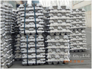 The Good Price for ADC14 Aluminum Alloy Ingots (Secondary Al) pictures & photos