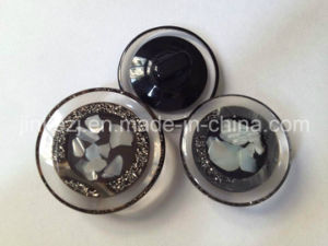 Fancy New High Fashion Transparent Shank Resin Coat Button